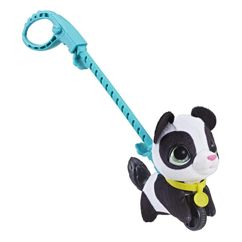 "Hasbro Furreal Friends Маленький питомец на поводке ""Панда"""