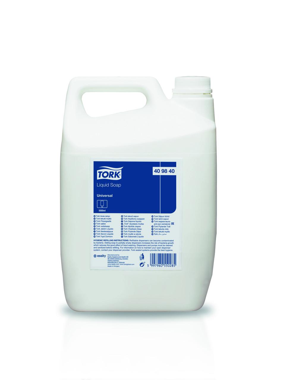 Tork жидкое мыло для рук наливное 409840