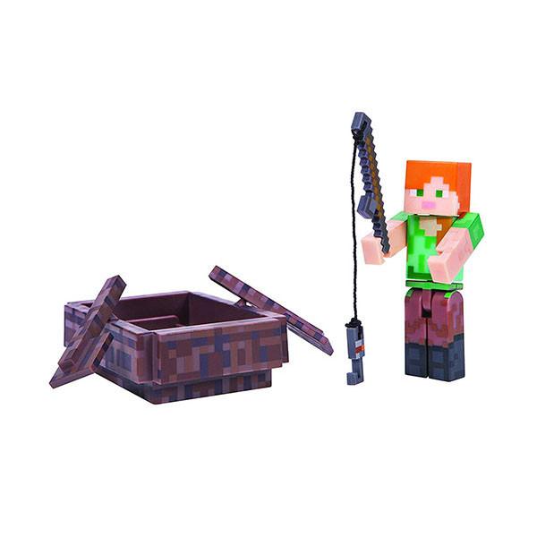 "Minecraft Набор ""Алекс с лодкой"""