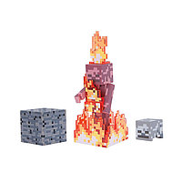 "Minecraft Набор ""Скелетон в огне"""