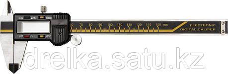 KRAFTOOL штангенциркуль электронный металлический, 150мм, фото 2