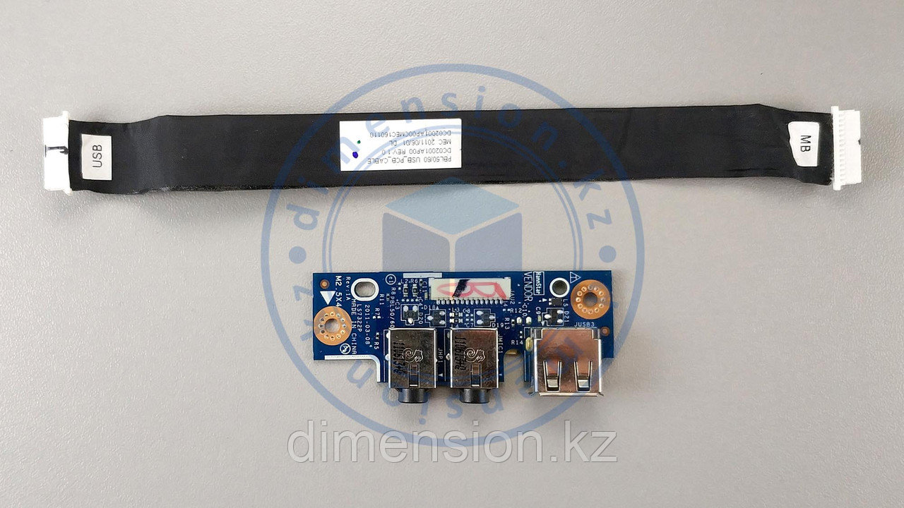 USB плата, порт, разъемы для ASUS K53T K53U