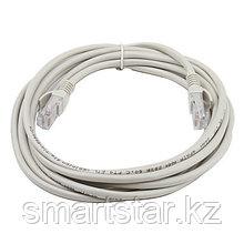 Кабель связи витая пара F/UTP, кат.5E 2х2х24AWG solid, PVC, серый