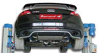 Выхлопная система Supersprint на Audi TT S / RS