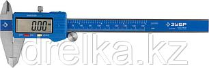 ЗУБР ЭКСПЕРТ, ШЦЦ-I-150-0,01 штангенциркуль цифровой, нерж сталь, пластиковый корпус, 150мм, фото 2