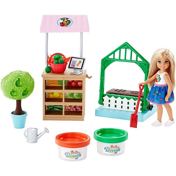 "Mattel Barbie FRH75 Барби ""Овощной сад Челси"""