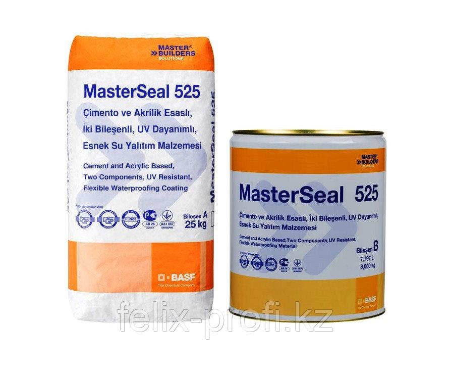MasterSeal® 525 comp.A (25кг.)  - готовый к применению двухкомпонентный состав для гидроизоляции и вторичной з