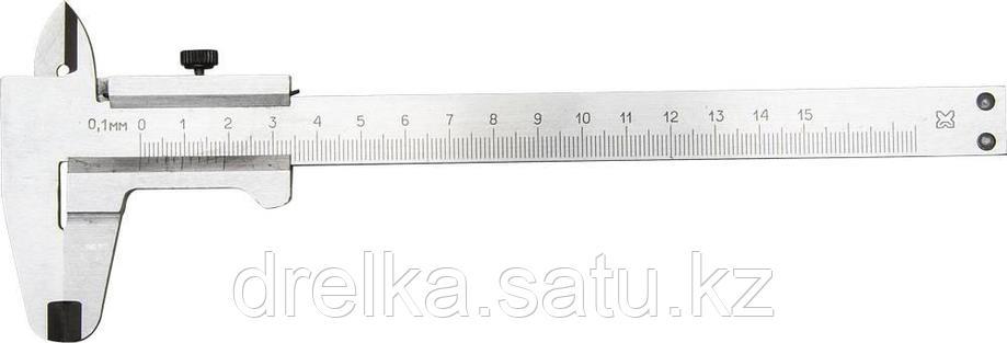 Штангенциркуль металлический тип 1, класс точности 2, 150мм, шаг 0,1мм , фото 2