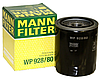 Масляный фильтр mann w 928/80 железный