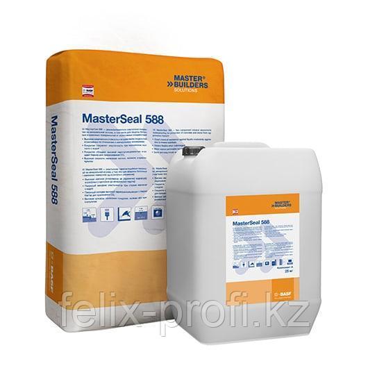 MasterSeal 588 comp. A – Высокоэластичное водостойкое покрытие для гидроизоляции и защиты бетона и каменной кл