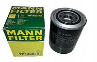 Масляный фильтр mann w 928/83 железный