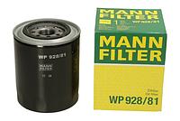 Масляный фильтр mann w 928/81 железный