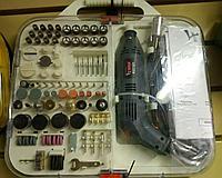 Гравер (дремель) Kedr K21101 + набор с насадками, фото 1