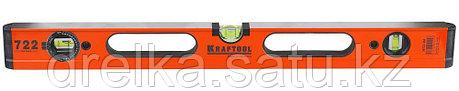 Уровень KRAFTOOL алюминиевый, 3 глазка, 100см , фото 2