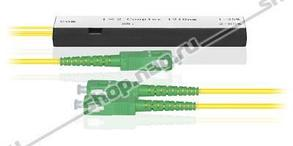 Делитель оптический корпусный dual window 1х 2-20/80-SC/APC