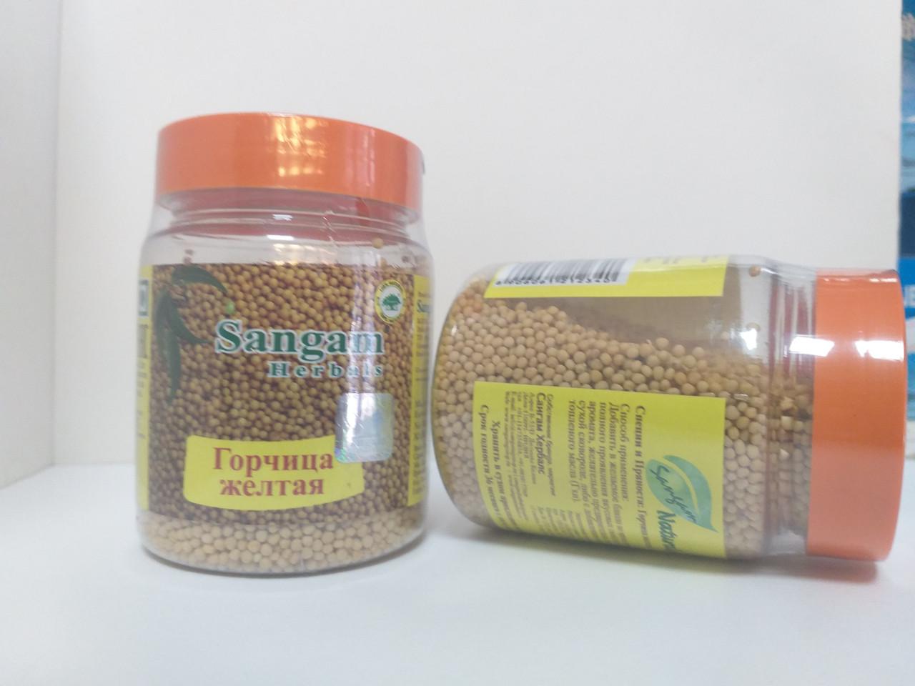 Горчица желтая, семена, 100 гр, Сангам
