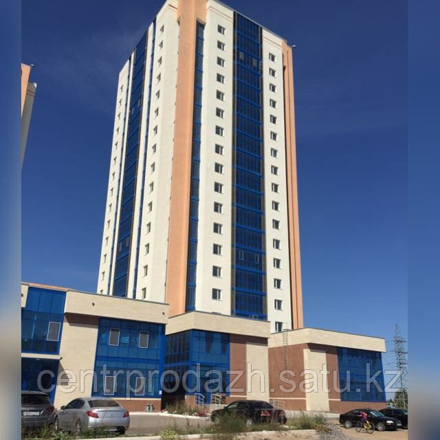 2 комнатная квартира в ЖК Сарыжайлау 67.9 м²