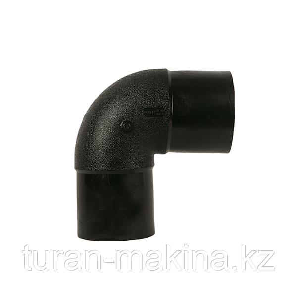 Полиэтиленовый отвод 90* 450 мм SDR 11/17