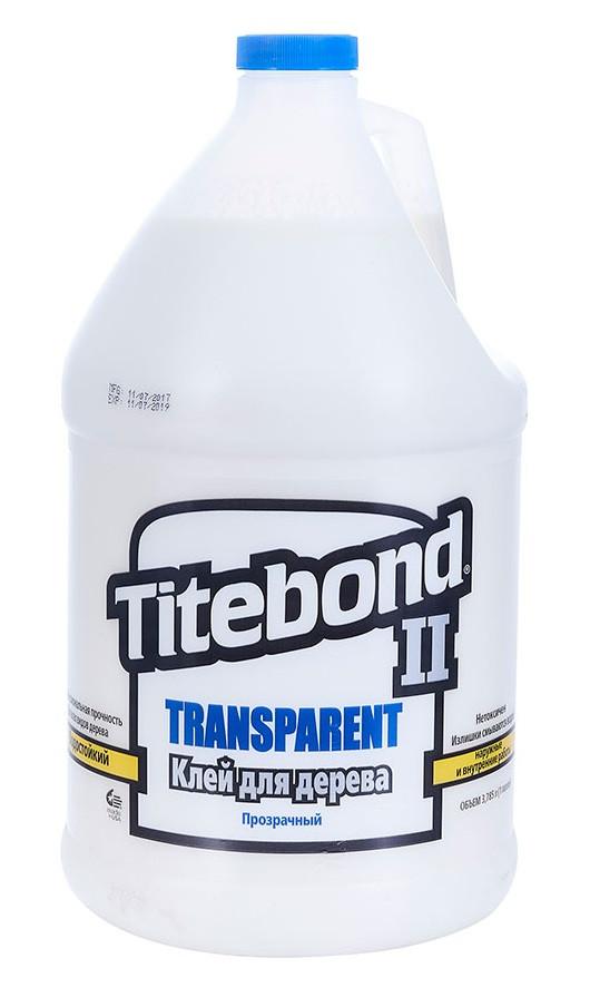 Клей Titebond II столярный влагостойкий прозрачный 3,78 л