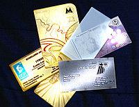 Офсетная печать визиток по индивидуальному заказу
