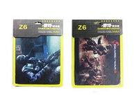 Коврик для мыши игровой  Z6 ш280в220т3 мм в картонной  упаковке