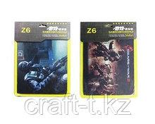 Коврик для мыши игровой  Z8  ш360в300т3мм в картонной  упаковке