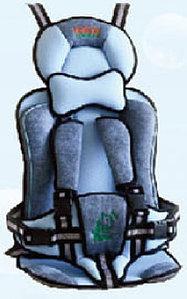 Автокресло GANEN F-серия (бескаркасное)                         Голубой
