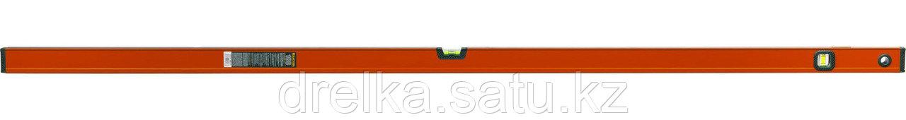"""Уровень KRAFTOOL """"KRAFT-MAX"""", особо усиленный, 2 ампулы, 2 фрезерованные базовые поверхности, 180см"""