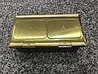 Лючок напольный на 6 модулей, металл, цвет золото, фото 4