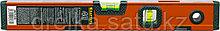 """Уровень KRAFTOOL """"KRAFT-MAX"""" магнитный, особо усилен, 2 ампулы, 2 фрезерованные базовые поверхности, 40см, фото 2"""