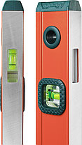 """Уровень KRAFTOOL """"KRAFT-MAX"""" магнитный, особо усилен, 2 ампулы, 2 фрезерованные базовые поверхности, 40см, фото 3"""