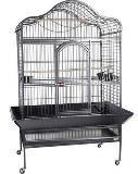 Клетка Вольер для крупных птиц А09, 125,6х92,8х172 см, крашенная