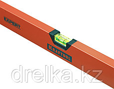 "Уровень коробчатый ""EXPERT"", KRAFTOOL 34710-100, 2 ампулы, 0,5 мм/м, 1000мм, фото 3"