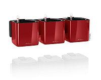 Вазоны LECHUZA Green Home Kit Glossy 17*17*H14см красный блестящий, фото 1