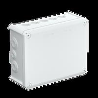 Распределительная коробка T160, 190x150x77 мм, красная крышка, фото 1