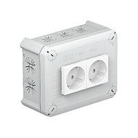 Распределительная коробка T100, 150x116x67 мм мм, с 2 Modul 45, фото 1