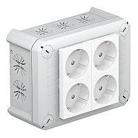 Распределительная коробка T100, 150x116x67 мм, с 4 Modul 45, фото 1