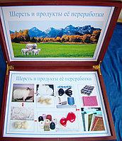 Коллекция Шерсть и продукты её переработки (карт.коробка)