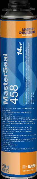 MasterSeal 458 – полиуретановая адгезивная пена. 750 мл.