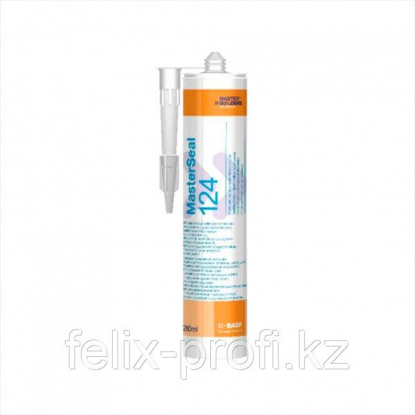 MasterSeal 124 –высокоэффективный санитарно-технический герметик кислотного отверждения  280мл