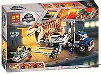 "Конструктор Bela 10927 ""Транспорт для перевозки Тираннозавра"" (Аналог Lego Jurassic World 75933) 638 деталей"