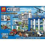 Конструктор Bela 10424 LELE City Полицейский участок 39059 (Аналог LEGO City 60047) 890 дет., фото 2