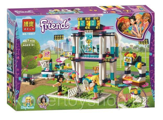 Конструктор BELA Friend Спортивная арена для Стефани 10857 (Аналог LEGO Friends 41338) 467 дет