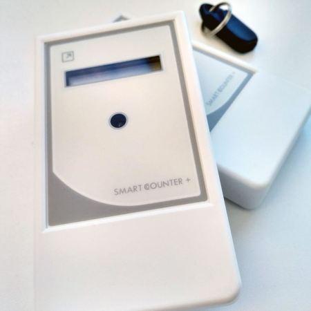 """Счетчик посетителей """"Smart Counter Plus"""" имеет современный внешний вид и легко найдет место в любом помещении"""