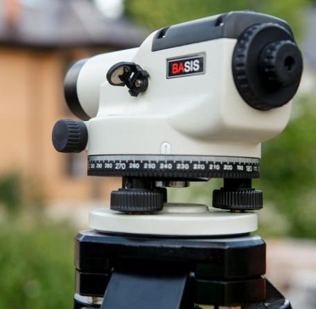 Нивелир оптический ADA BASIS позволит Вам определять превышения при проведении геодезических работ с очень высокой точностью!