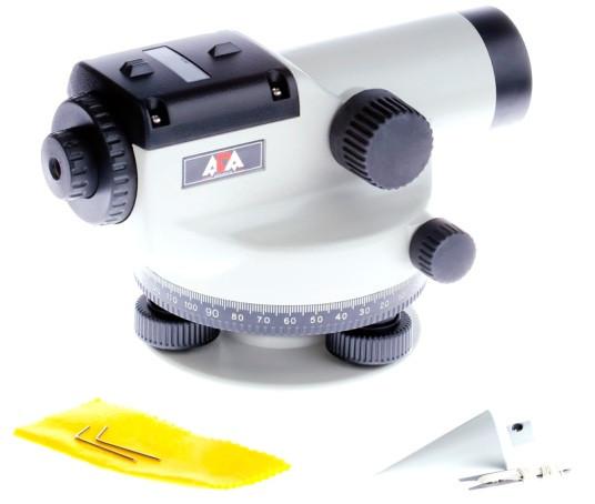 В комплекте с оптическим нивелиром ADA BASIS Вы получите все инструменты, необходимые для начала его использования по назначению
