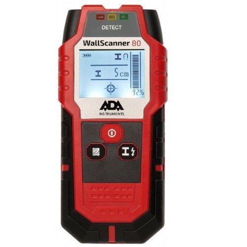 """Детектор проводки, металла и дерева """"ADA Wall Scanner 80"""""""