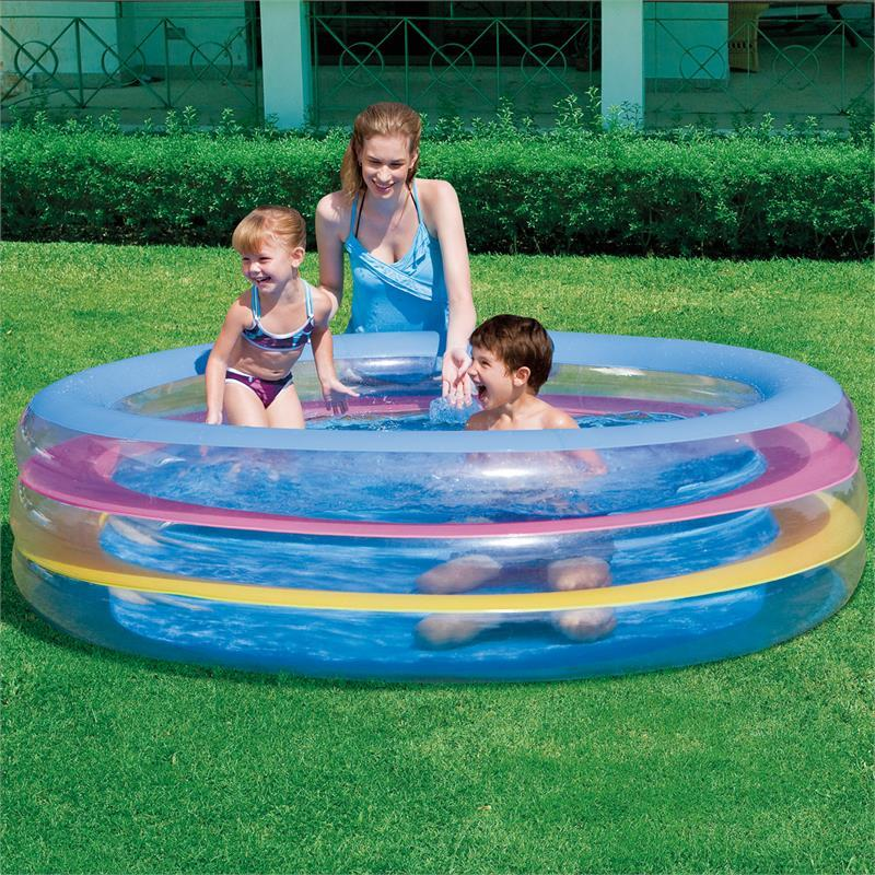 Детский надувной бассейн Bestway Морская Жизнь 196х53 см 51029