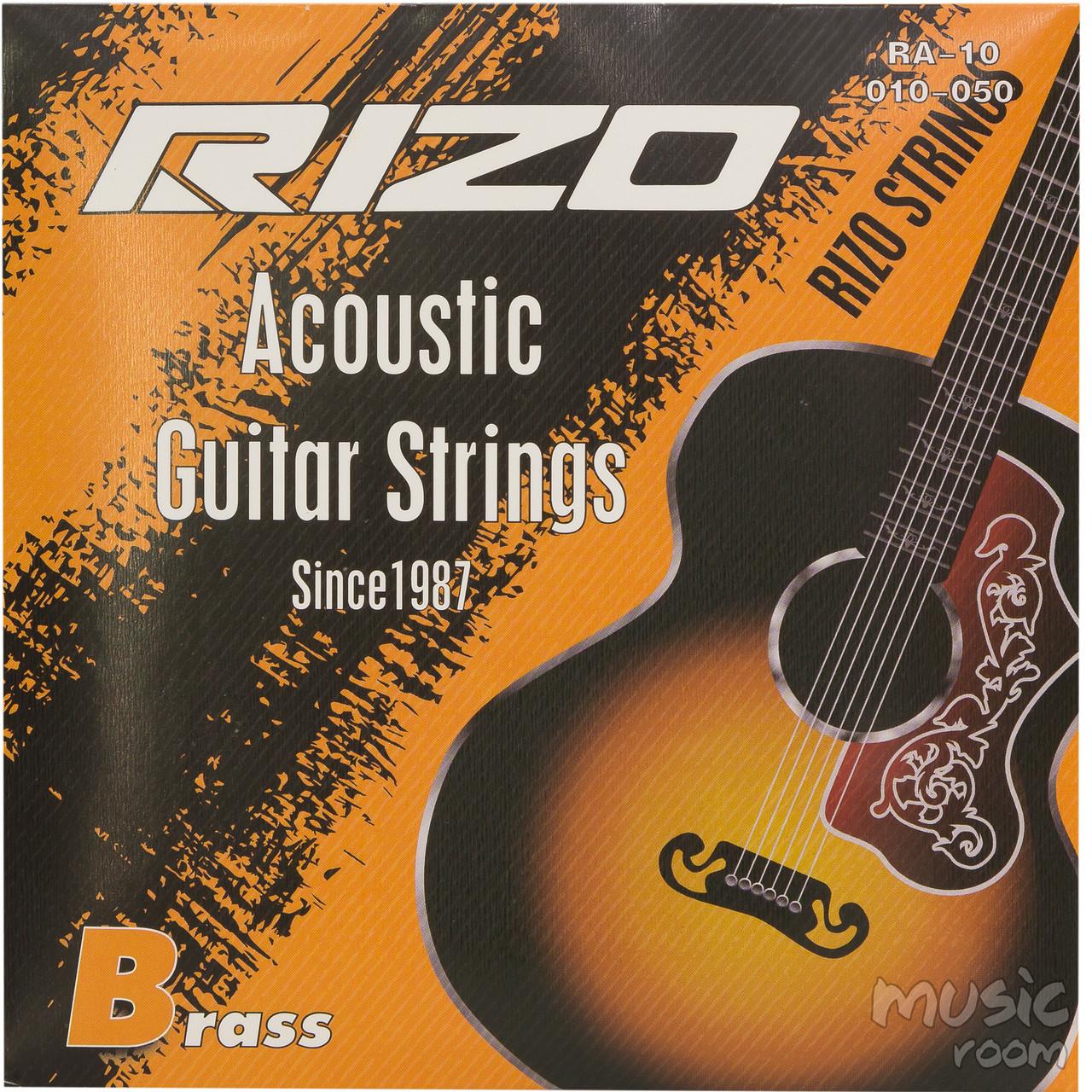 Струны для акустической гитары Rizo RA-10