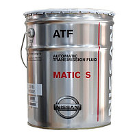 Трансмиссионное масло для АКПП Nissan KLE24 00002 Matic Fluid S  (1л)